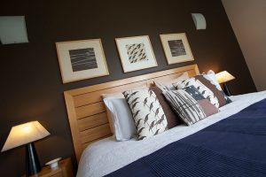 Relax in your king size bed - Somewhere Unique, Romantic Hunter Valley Couples Accommodation