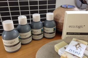 We supply environmentally friendly bathroom products