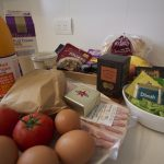 A delicious breakfast hamper awaits you on arrival