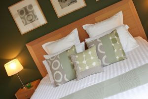 Enjoy a peaceful nights sleep in your king-size bed