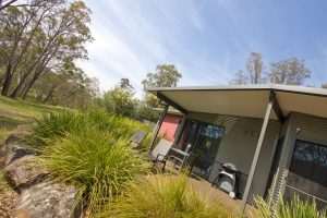 A contemporary retreat in a bushland setting