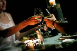 Enjoy a romantic BBQ dinner
