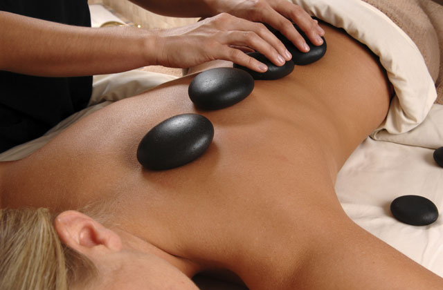 In-house hot stones massage at Somewhere Unique, romantic Hunter Valley accommodation