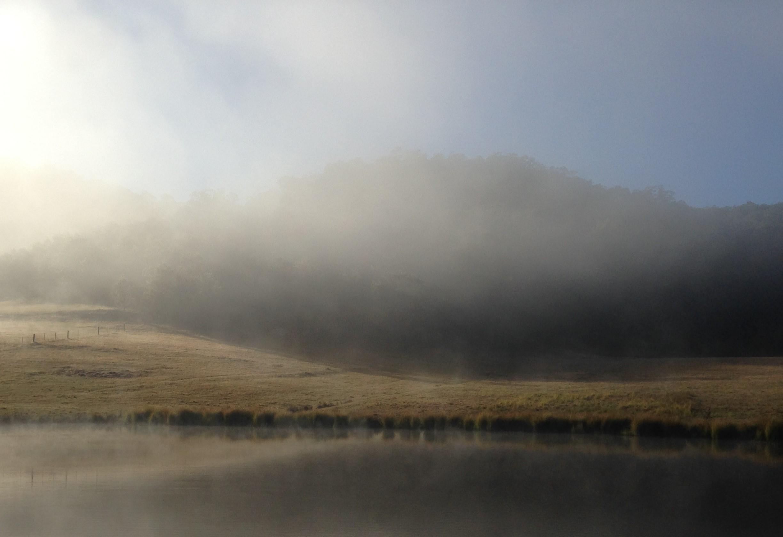 Wollombi winter, beautiful Hunter Valley landscape