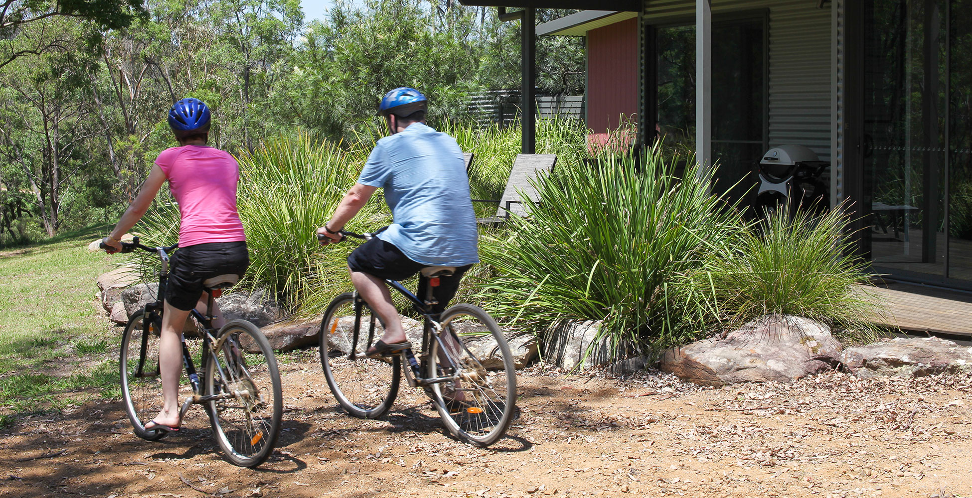 Bike riding around Wollombi, Hunter Valley
