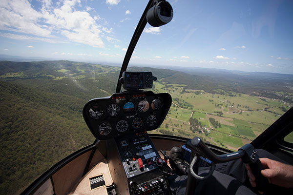 Hunter Valley Helicopter Tours, from Somewhere Unique in Wollombi