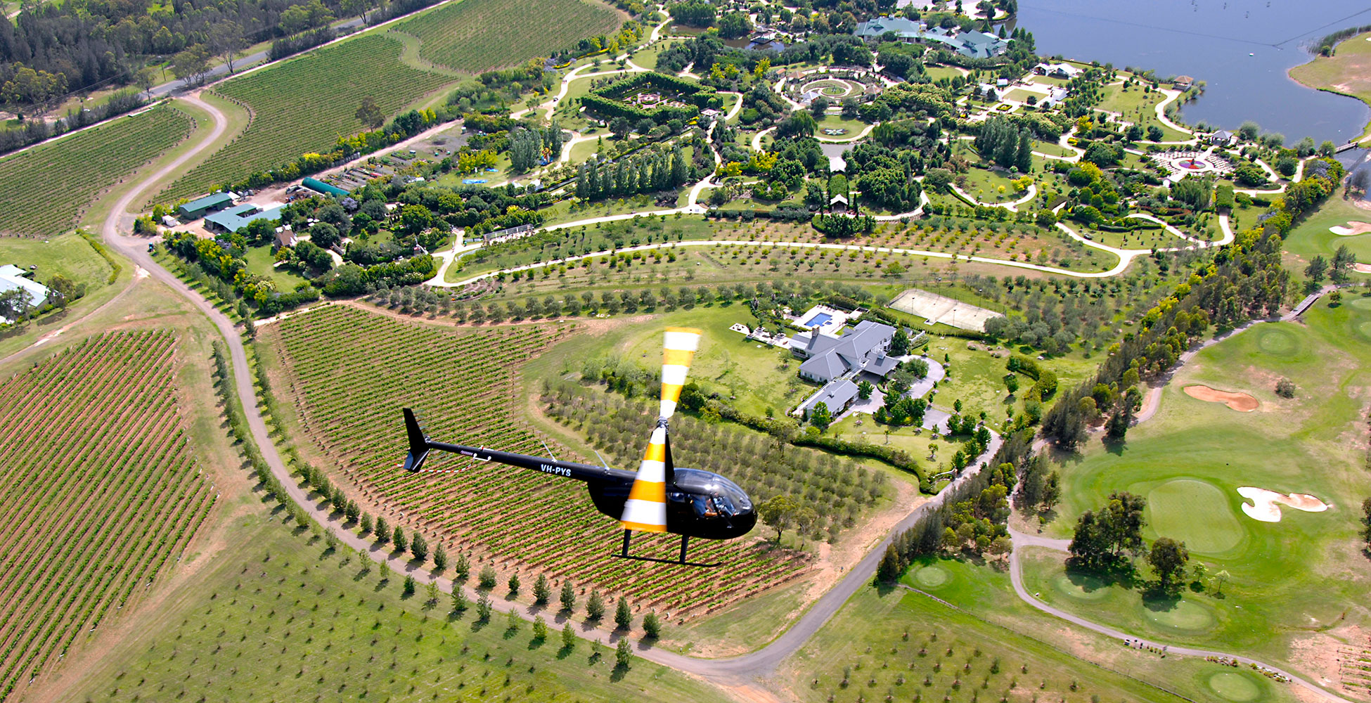 Hunter Valley Helicopters - Tours from Wollombi