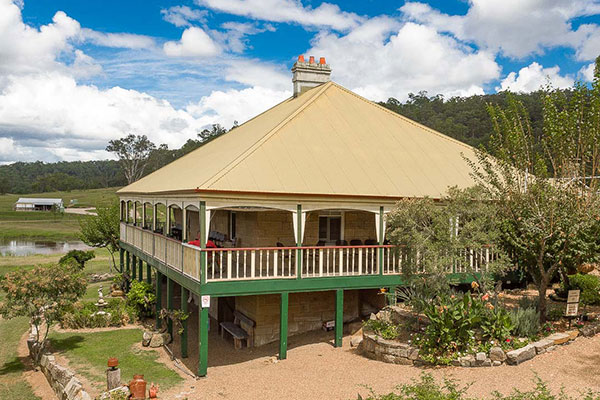 Guesthouse Mulla Villa in Wollombi, Settlers Kitchen Restaurant