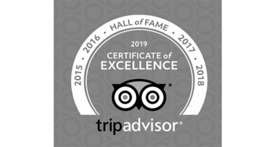 Somewhere Unique, TripAdvisor Certificate of Excellence, Hall of Fame